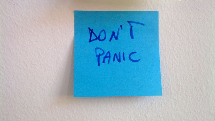 progetto IC dont panic